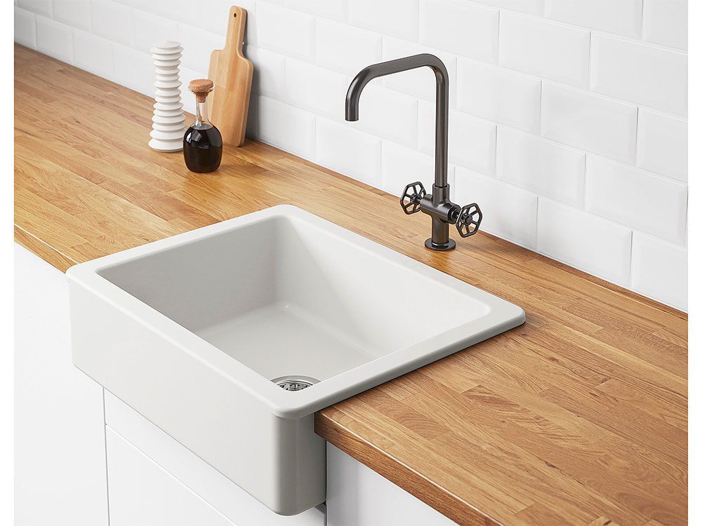 New IKEA Catalogue: Havsen apron front sink