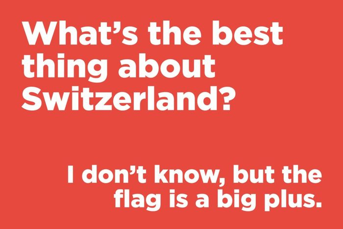 What's the best thing about Switzerland