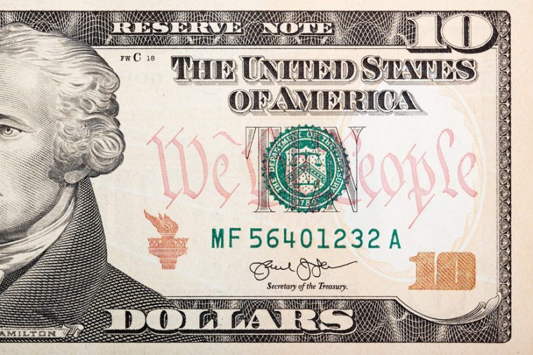 American bank note