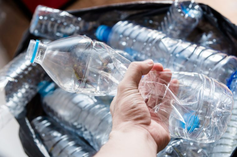 Bottled water is full of microplastic