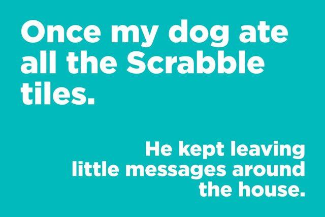 Scrabble joke