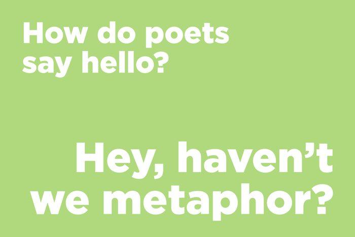 Poetry joke