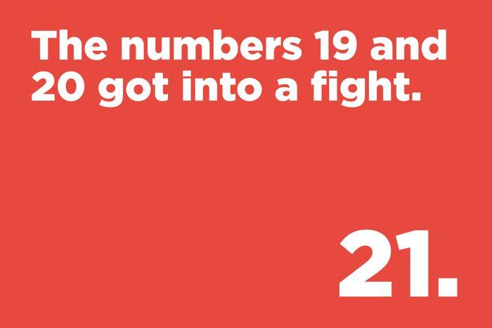 Numbers joke
