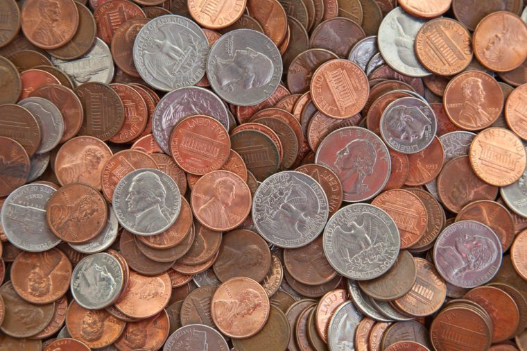 American coins and pennies