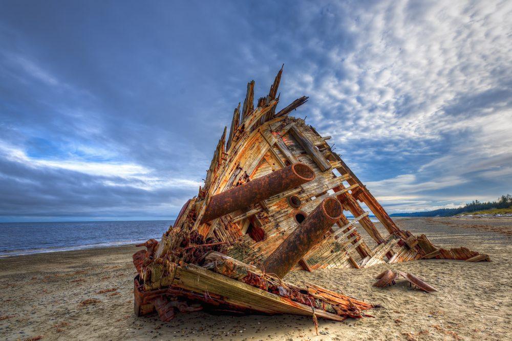 Pesuta shipwreck