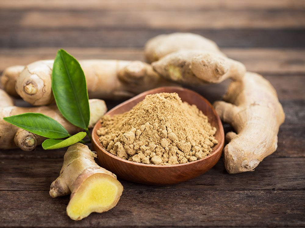 Healing herbs and spices: Ginger