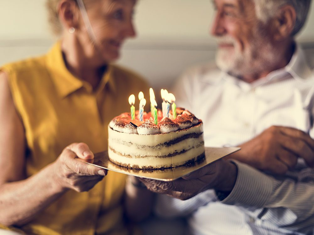 Embrace the anxiety of a milestone birthday