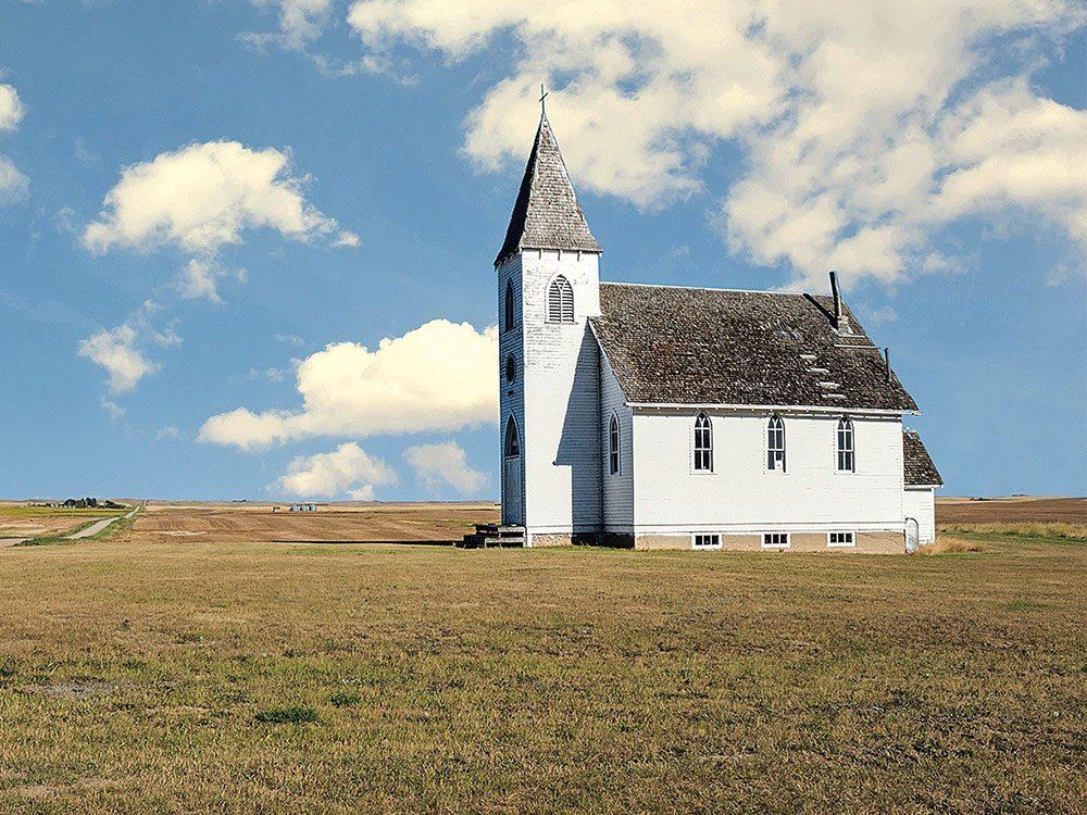 Abandoned church in Kayville