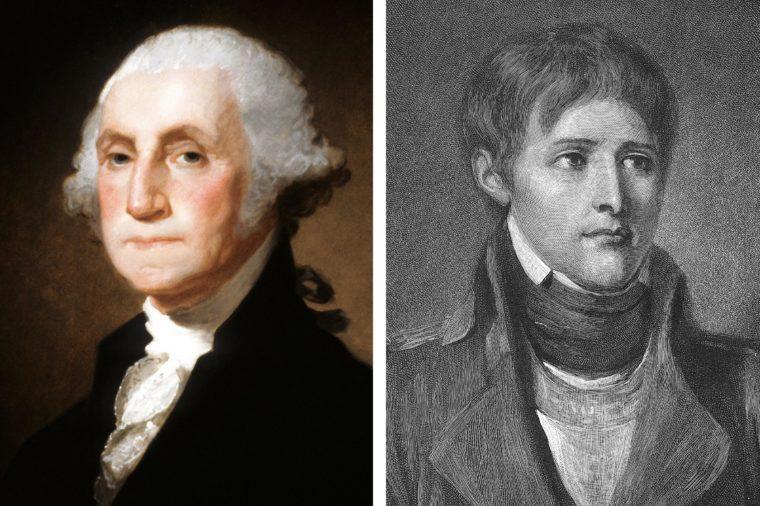 George Washington and Napoleon Bonaparte