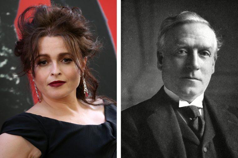 Helena Bonham Carter and H.H. Asquith