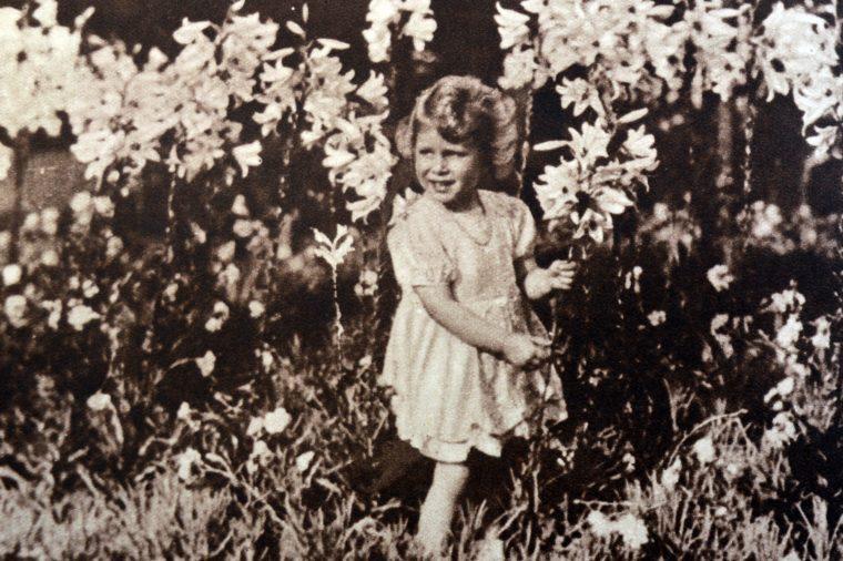 Queen Elizabeth II as a child