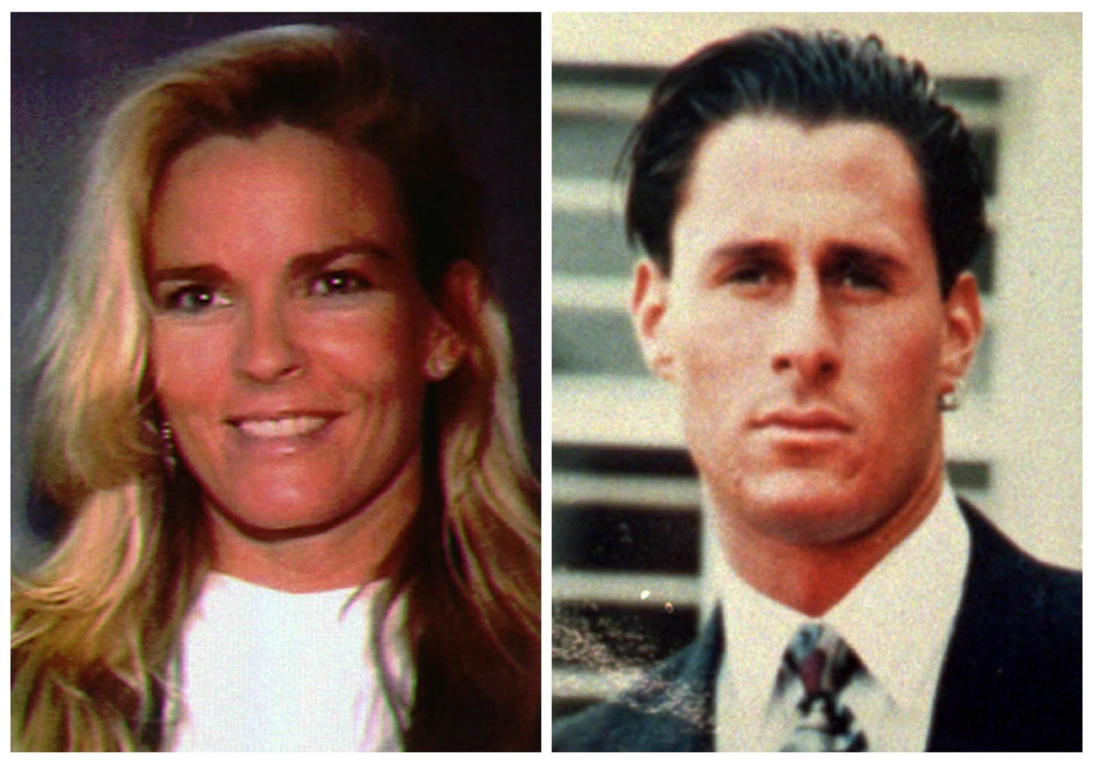 "Nicole Brown Simpson, Ron Goldman This file combo photo shows Nicole Brown Simpson, left, and her friend Ron Goldman, both of whom were murdered and found dead in Los Angeles on . Hall of Fame football star O.J. Simpson was charged with the murders of Nicole and Goldman, but a jury later found him not guilty in what some call the ""Trial of the Century"
