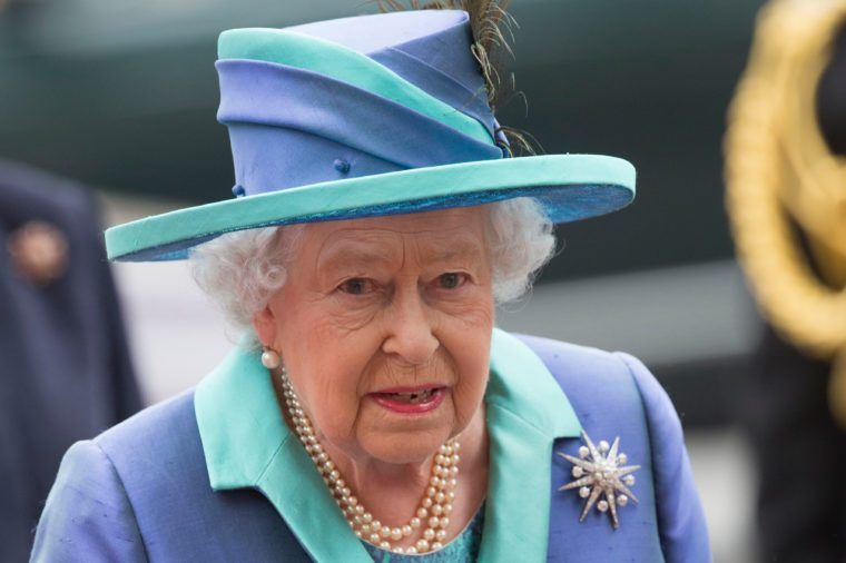 The Queen celebrates the 100th anniversary of the Air Force