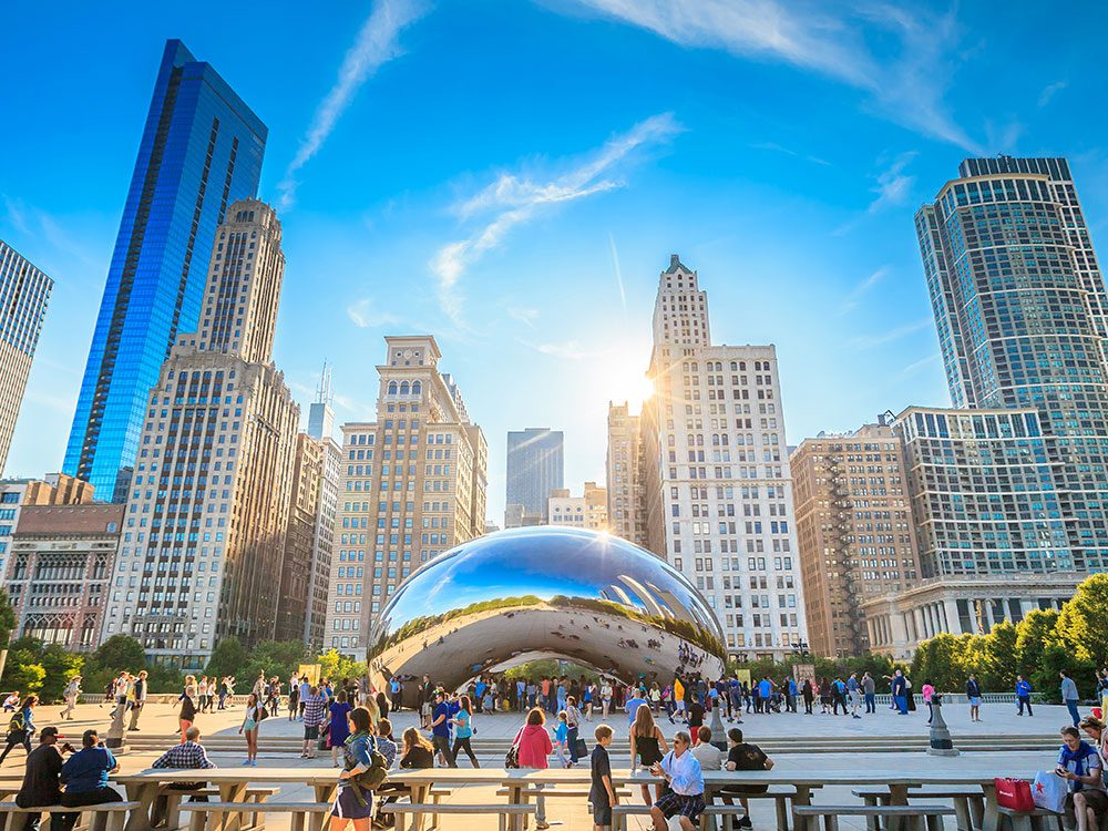 Things to do in Chicago: The Bean in Millennium Park