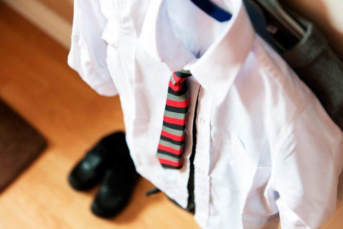Boy's school uniform
