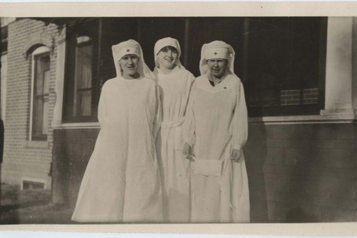 WWI nurses