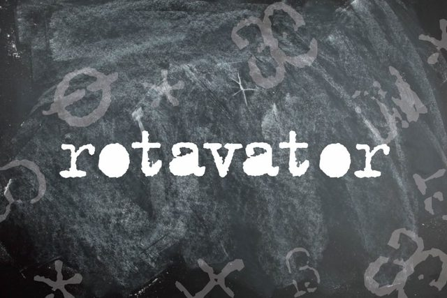 Rotavator is a palindrome