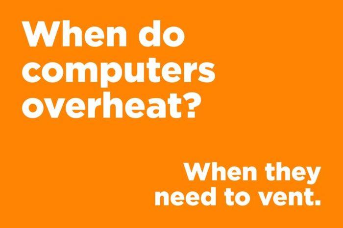 computers overheat