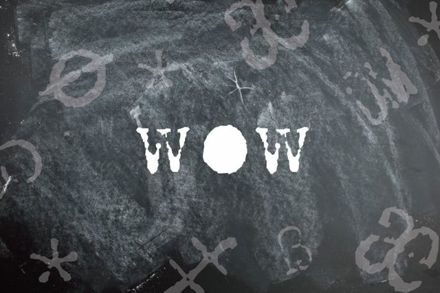 Wow is a palindrome