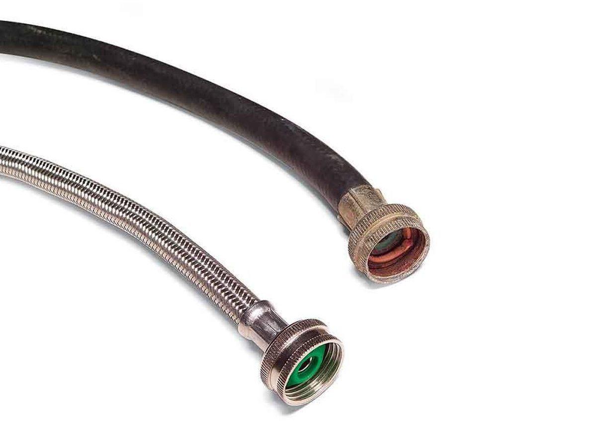 braided steel hose