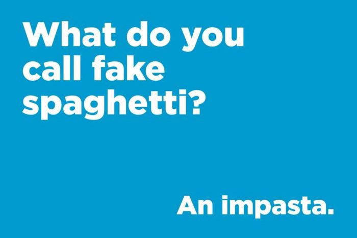 fake spaghetti