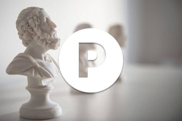 English alphabet letter P