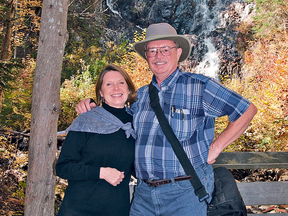 Black Beaver Falls, Agawa Canyon