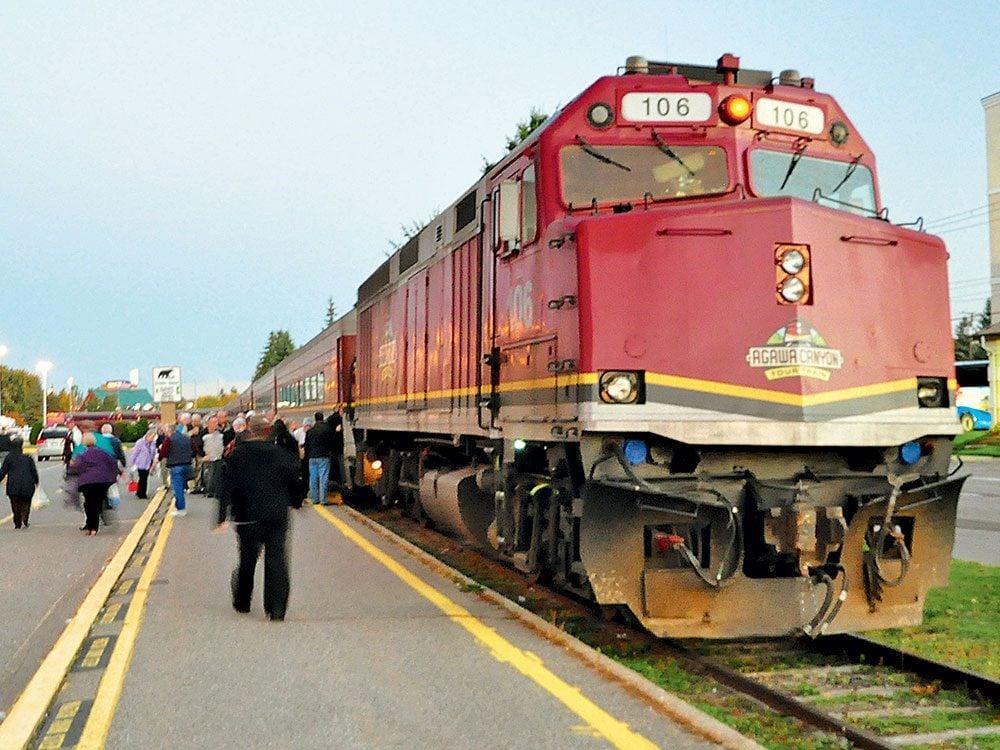 Agawa Canyon Tour Train