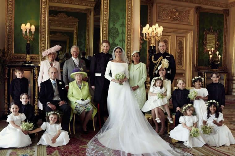 Royal family photo after Meghan Markle's wedding
