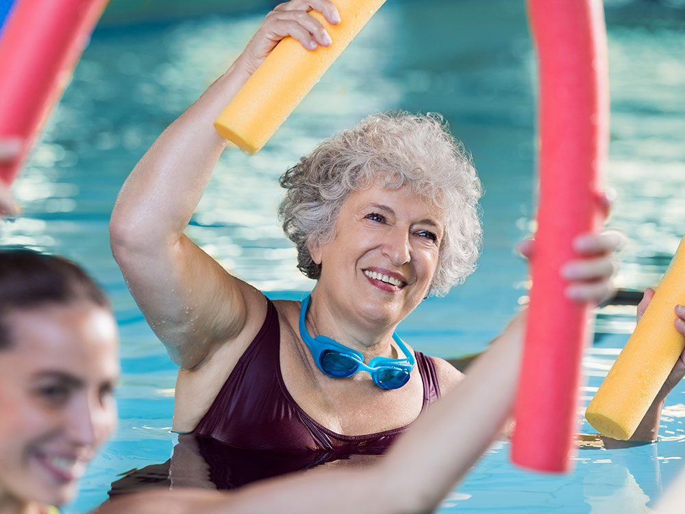 Getting active improves joint health