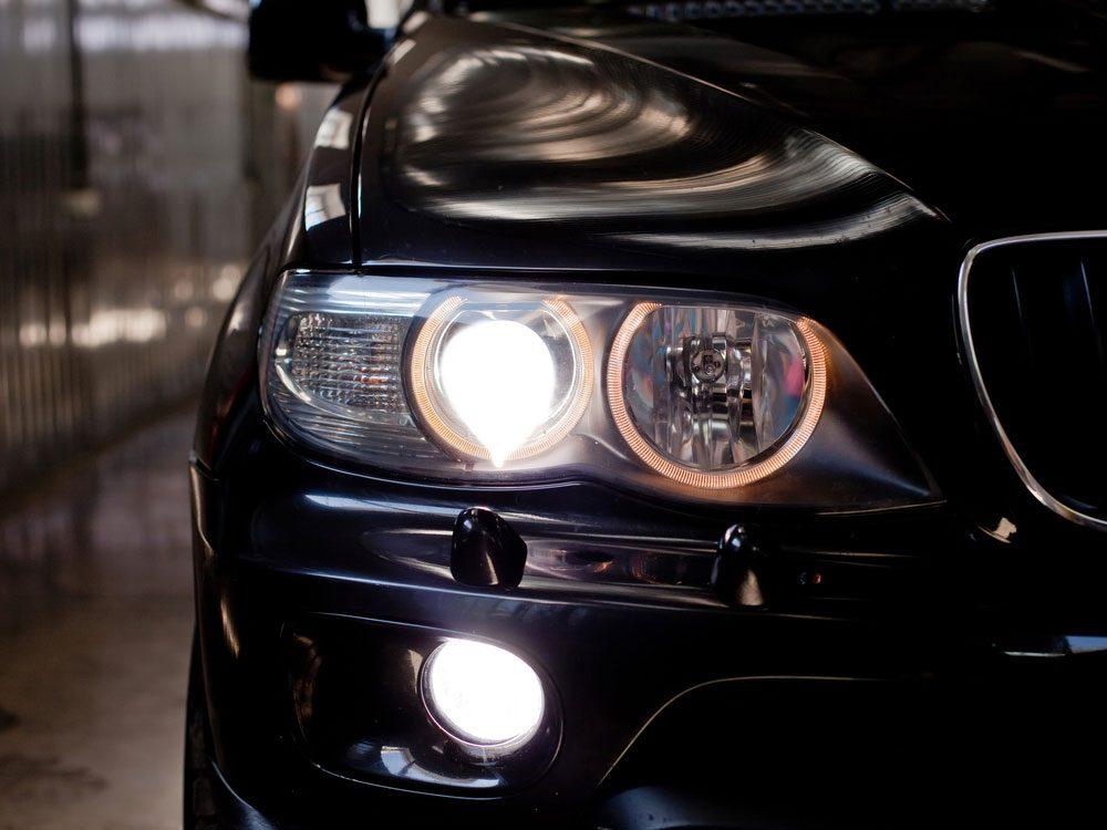 Car headlights