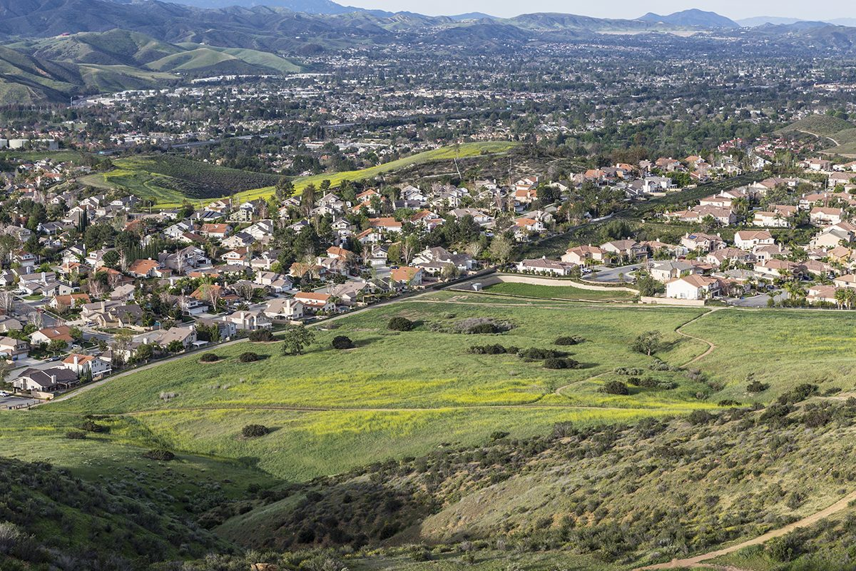 Horror movie locations - Simi Valley California, Poltergeist