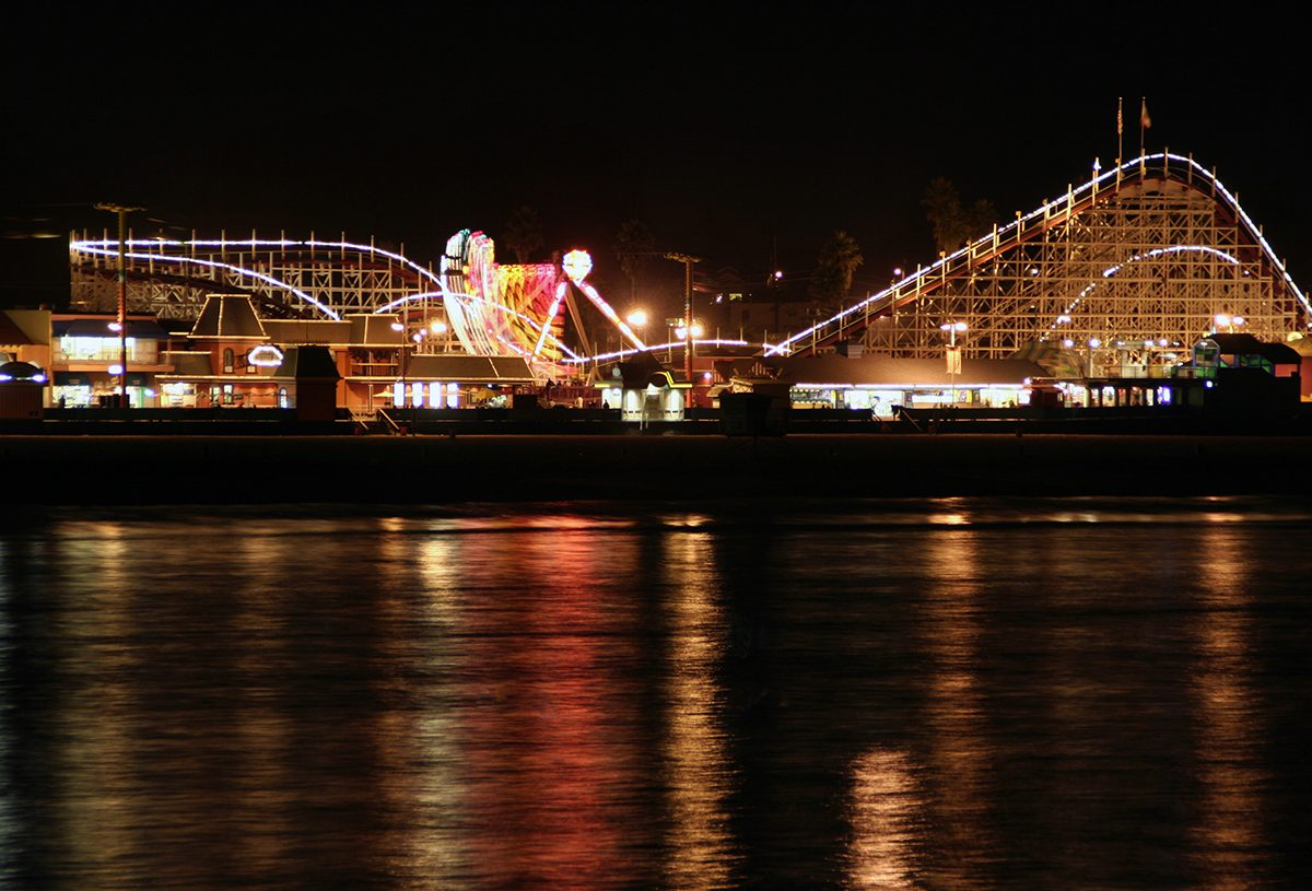 Horror movie locations - Santa Cruz boardwalk, The Lost Boys