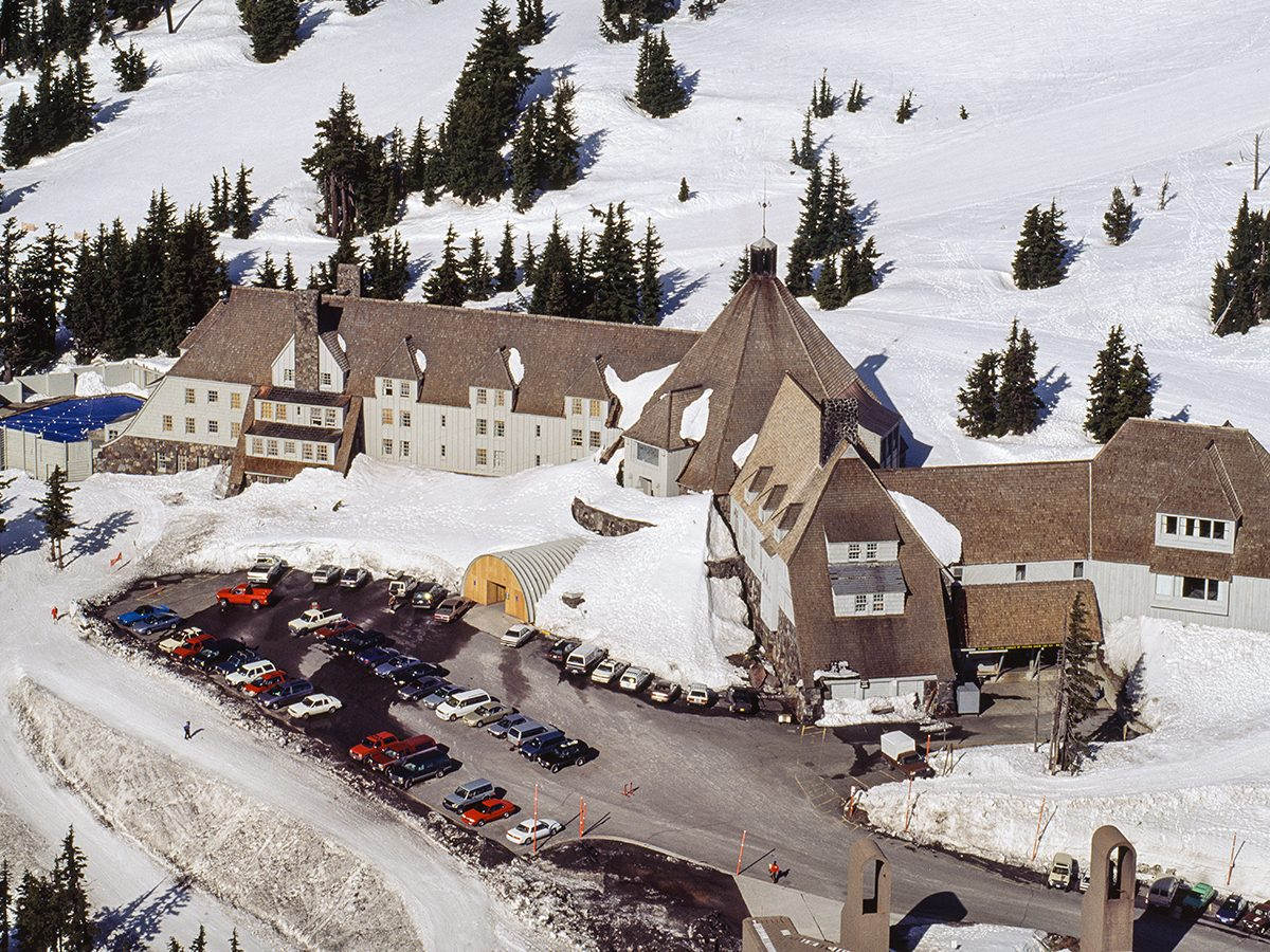 Horror movie locations - Timberline Lodge, The Shining