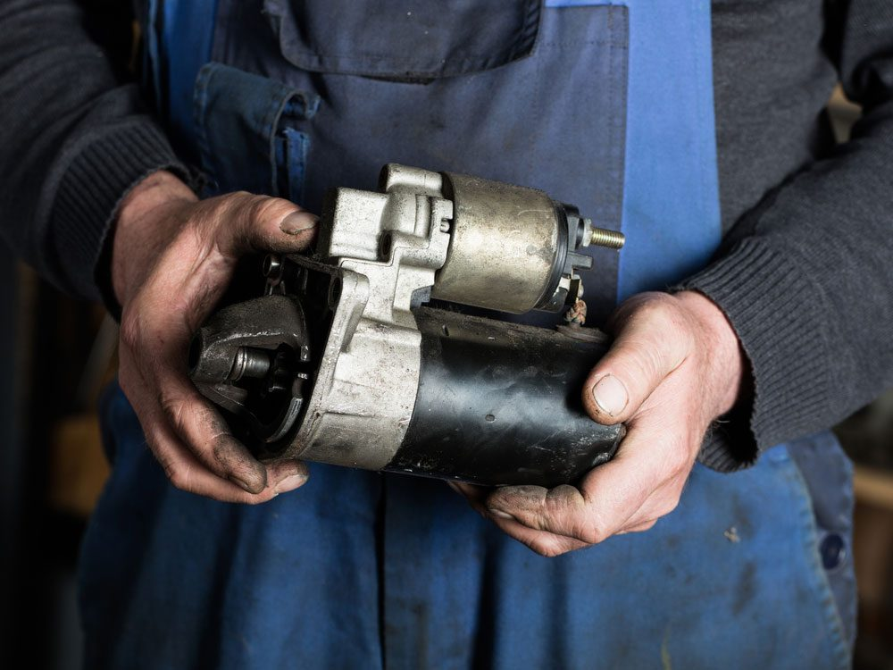 How to replace a starter
