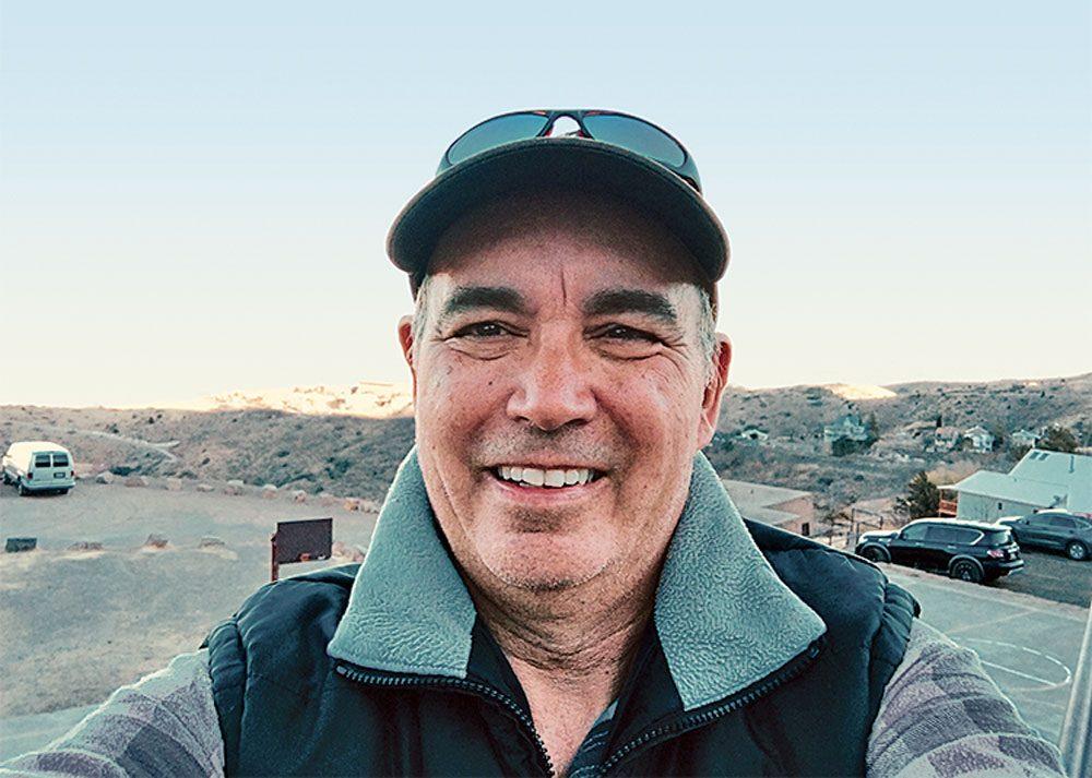 Jim Logan selfie
