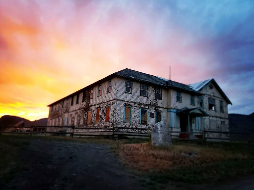 Most haunted places in Canada - Tranquille, B.C.
