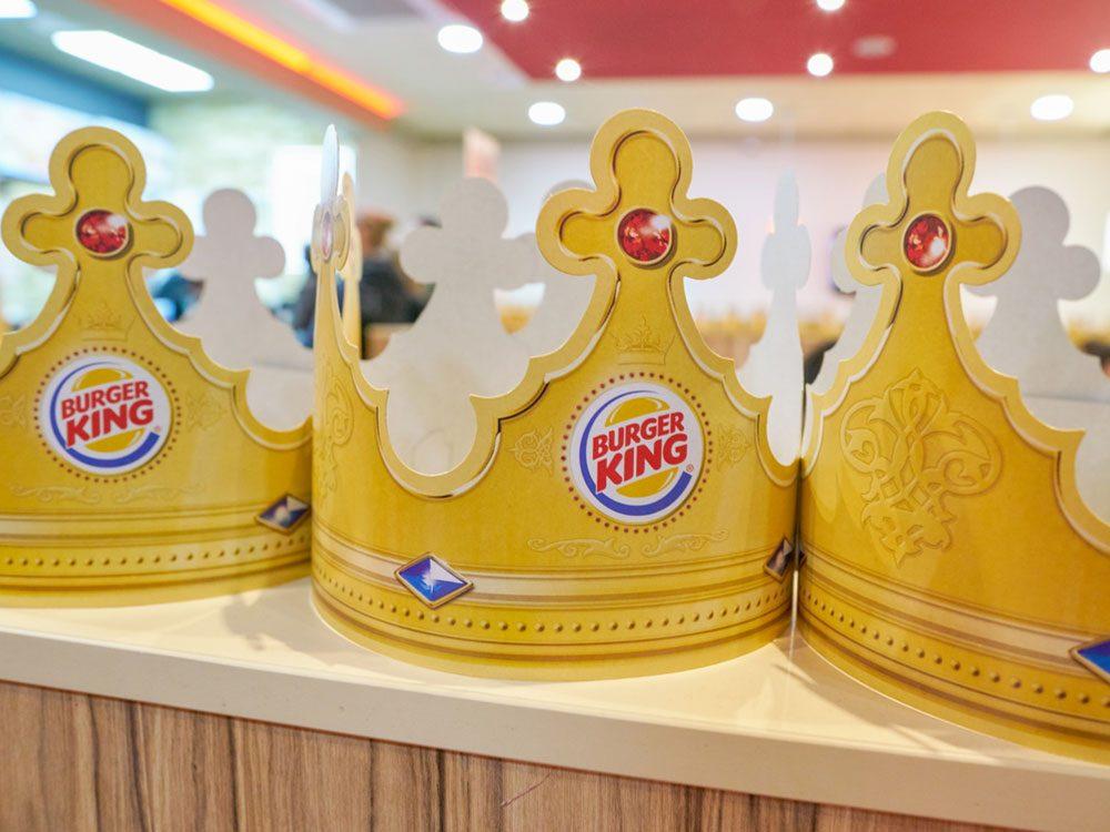 Burger King crown