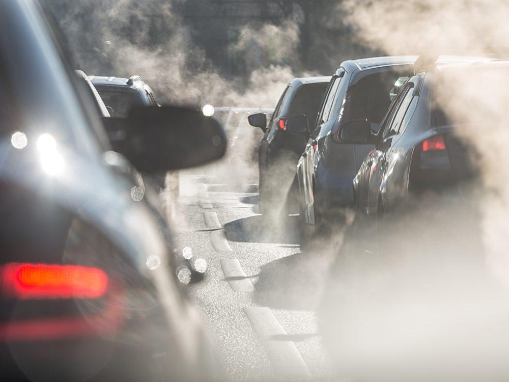 Pollution cars