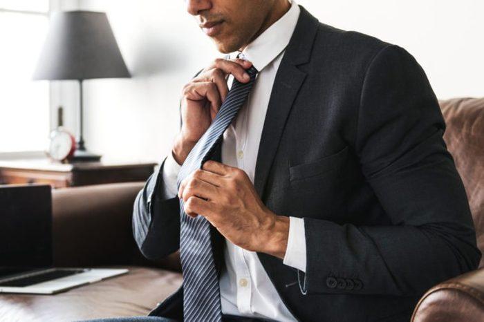 Businessman in formalwear