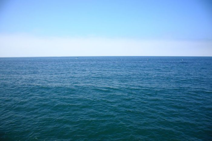 Pacific Ocean - A view of the Pacific Ocean from the Santa Monica Pier in California.