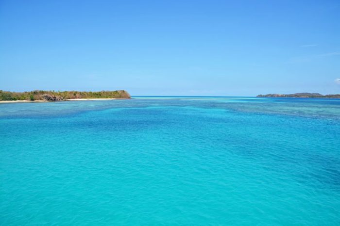 Blue Lagoon, Yasawa islands, Fiji, South Pacific Ocean
