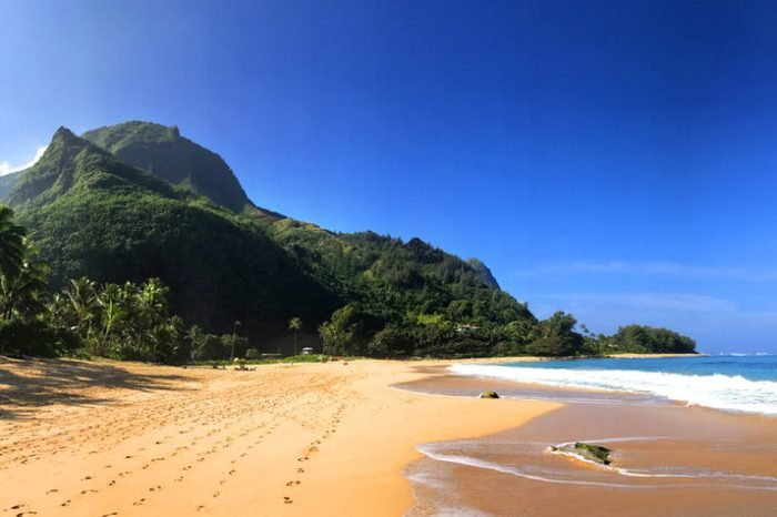 Stunning Tunnels Beach in Kauai Hawaii