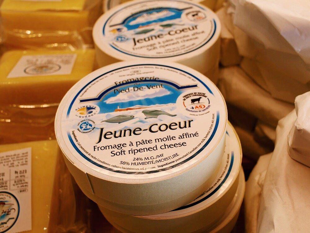 Quebec cheeses