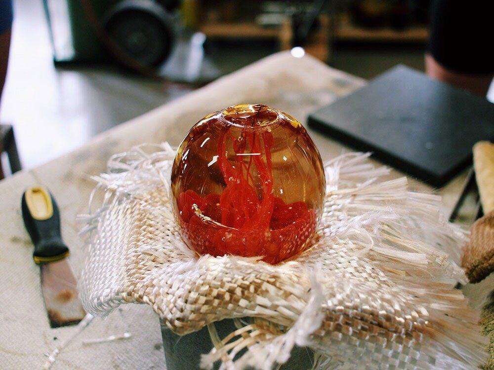 La Méduse glassblowing studio