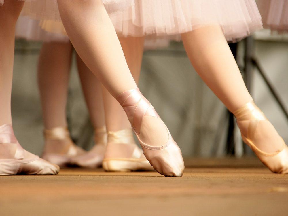 Ballets en pointe