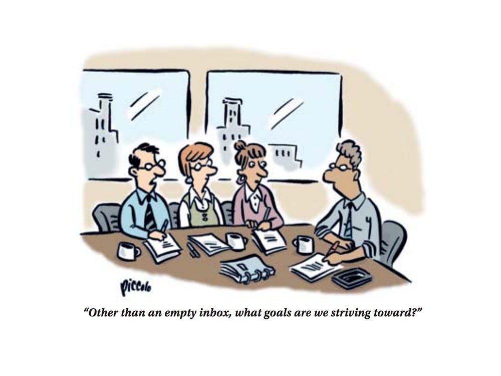 Work cartoons