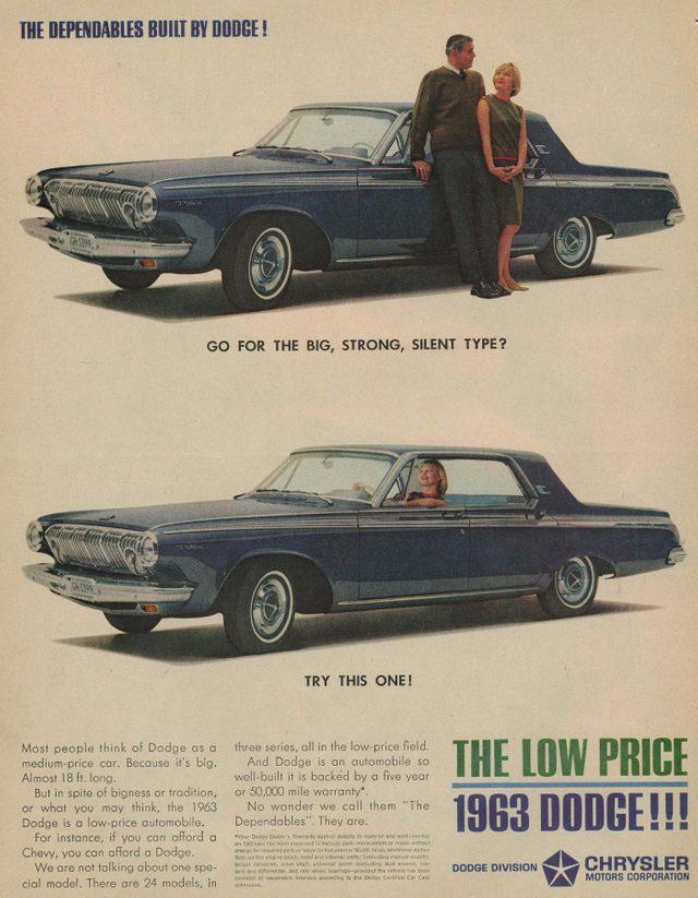 '63 dodge ad
