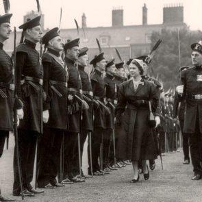 Queen Elizabeth II at 25