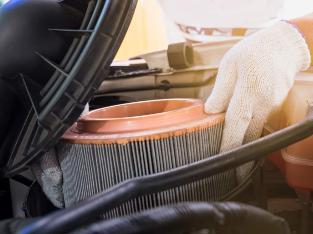 Get better gas mileage by replacing your air filter